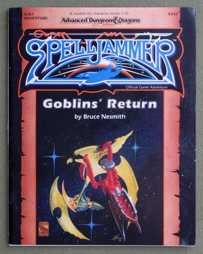 Image for Goblin's Return (Advanced Dungeons & Dragons/Spelljammer Module SJS1)