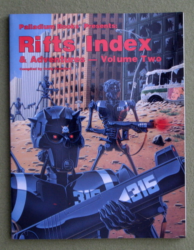 Image for RIFTS Index and Adventures: Volume Two