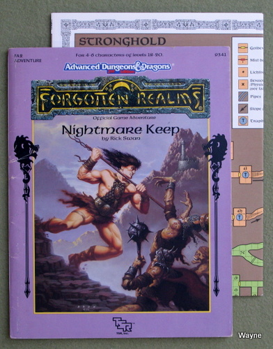 Image for Nightmare Keep (Advanced Dungeons & Dragons/Forgotten Realms module FA2)