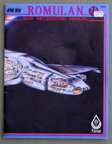 Image for Romulan Ship Recognition Manual (Star Trek: The Role Playing Game)
