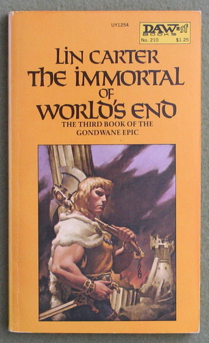 Image for The Immortal of World's End (Gondwane Epic, Book 3)