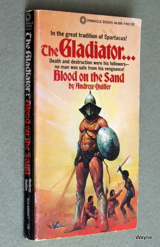 Image for The Gladiator: Blood on the Sand
