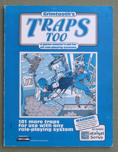 Image for Grimtooth's Traps Too