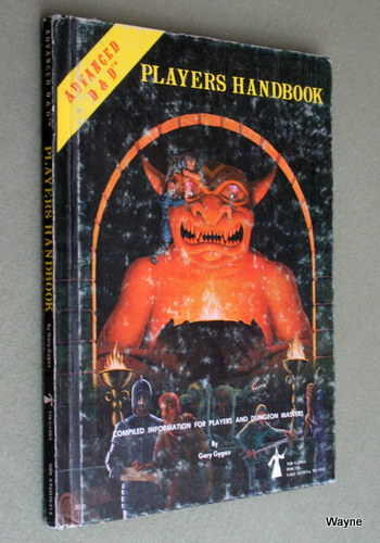 Image for Players Handbook (Advanced Dungeons & Dragons, 1st Edition) - PLAY COPY