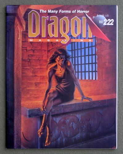 Image for Dragon Magazine, Issue 222