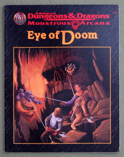 Image for Eye of Doom (Advanced Dungeons & Dragons/Monstrous Arcana Accessory)