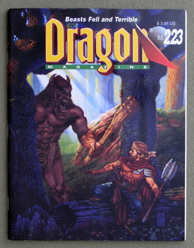 Image for Dragon Magazine, Issue 223