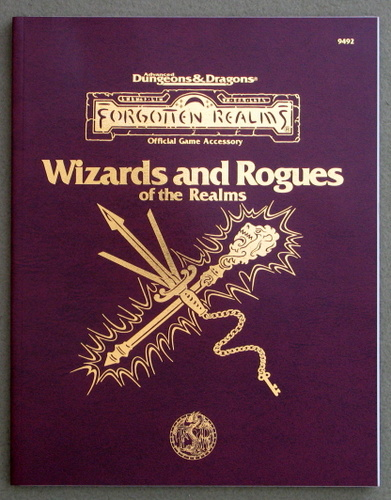 Image for Wizards and Rogues of the Realms (Advanced Dungeons & Dragons: Forgotten Realms)