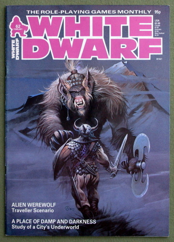 Image for White Dwarf Magazine, Issue 62
