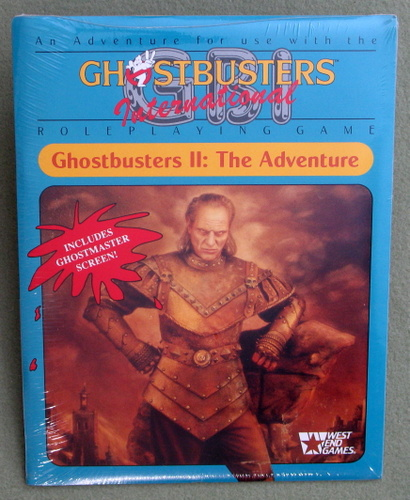 Image for Ghostbusters II: The Adventure (Ghostbusters RPG)