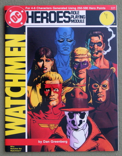 Image for Watchmen: Who Watches the Watchmen? (DC Heroes RPG)