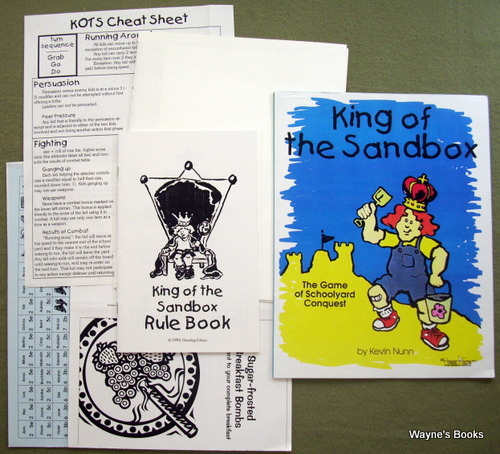 Image for King of the Sandbox: The Game of Schoolyard Conquest