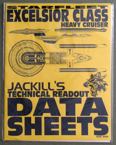 Image for Starfleet Excelsior Class Heavy Cruiser: NCC-2000 (Jackill's Technical Readout Data Sheets)