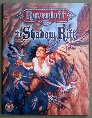 Image for The Shadow Rift (Advanced Dungeons & Dragons: Ravenloft Adventure)