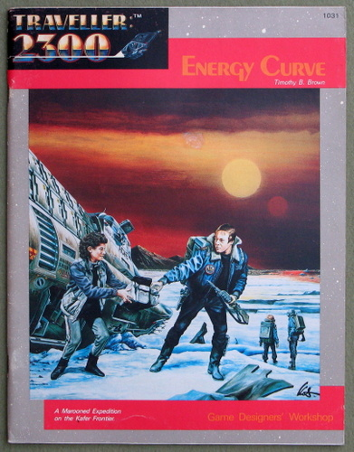 Image for Energy Curve (2300AD role playing game)