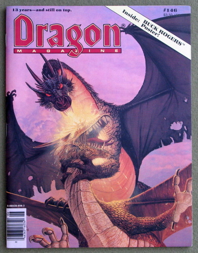 Image for Dragon Magazine, Issue 146 - MISSING POSTER