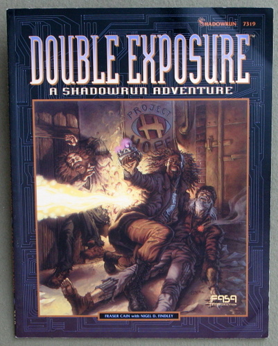Image for Double Exposure: A Shadowrun Adventure