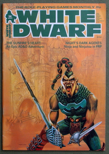 Image for White Dwarf Magazine, Issue 56