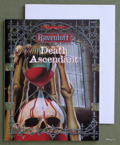 Image for Death Ascendant (Advanced Dungeons & Dragons: Ravenloft Horror Module)