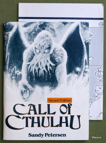 Image for Call of the Cthulhu (Second Edition)