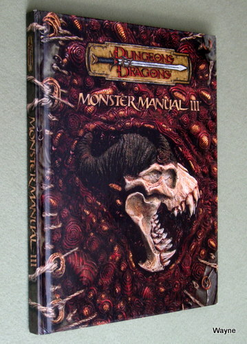Image for Monster Manual III (Dungeons & Dragons d20 3.5 Fantasy Roleplaying)