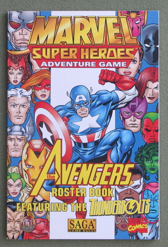 Image for The Avengers Roster Book (Marvel Super Heroes/SAGA)