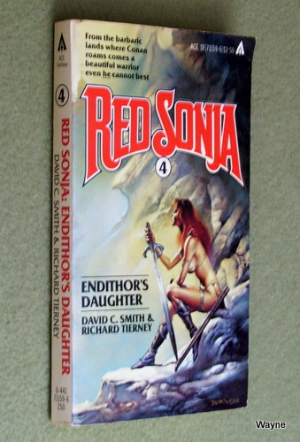 Image for Endithor's Daughter (Red Sonja, Book 4)