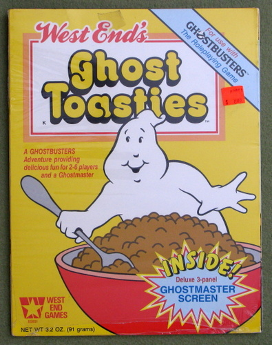 Image for Ghost Toasties (Ghostbusters RPG)