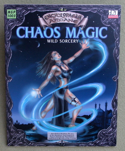 Image for Chaos Magic: Wild Sorcery (Encyclopaedia Arcane: D20 system)