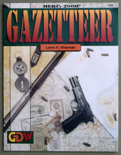 Image for Gazetteer (Merc: 2000/Twilight: 2000)