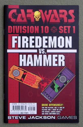 Image for Car Wars Division 10 Set 1: Firedemon vs. Hammer