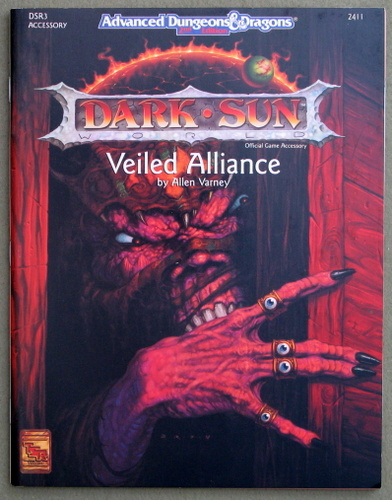 Image for Veiled Alliance (Advanced Dungeons & Dragons: Dark Sun Module DSR3)