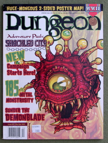 Image for Dungeon Magazine, Issue 97