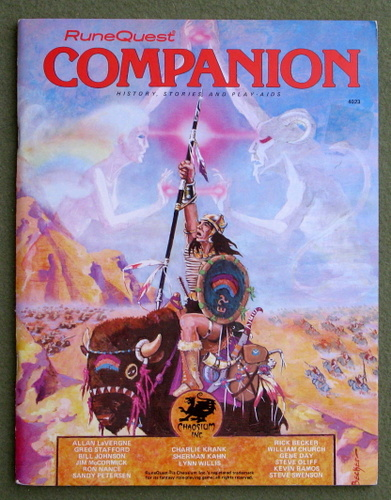 Image for RuneQuest Companion: History, Stories, and Play-aids