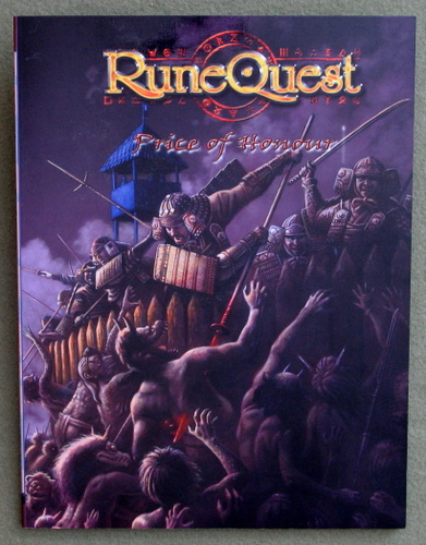 Image for Price of Honour (Runequest)