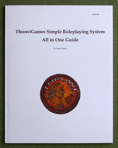 Image for Throwigames Simple Roleplaying System: All in One Guide