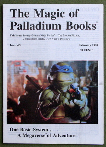 Image for The Magic of Palladium Books, Issue 5 (Feb 1990)