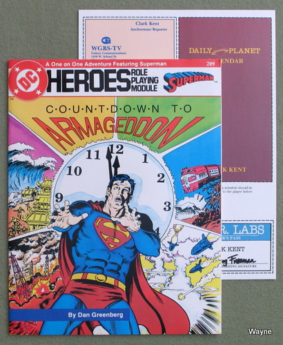 Image for Countdown to Armageddon (DC Heroes Role Playing Game)