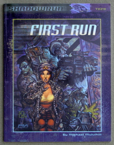 Image for First Run (Shadowrun)