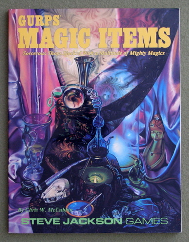 Image for GURPS Magic Items: Sorcerous Shops Stocked With a Multitude of Mighty Magics
