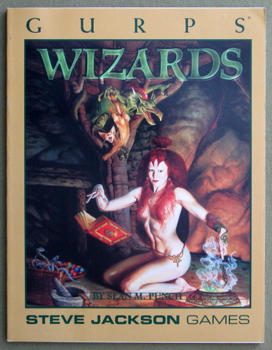Image for GURPS Wizards