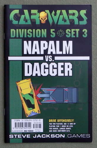 Image for Car Wars Division 5 Set 3: Napalm vs. Dagger