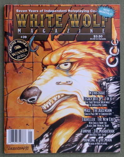 Image for White Wolf Magazine, Issue 39
