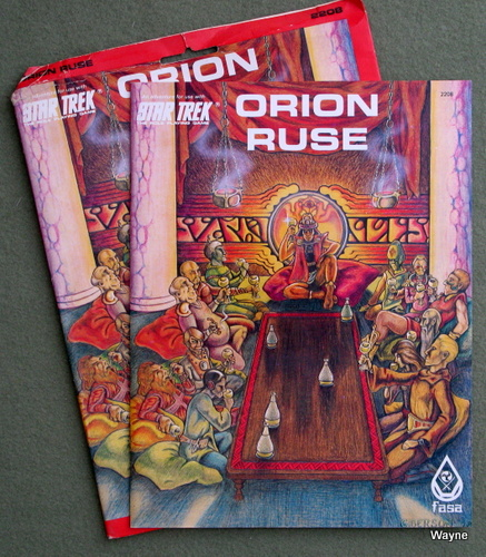Image for Orion Ruse (Star Trek Role Playing Game)