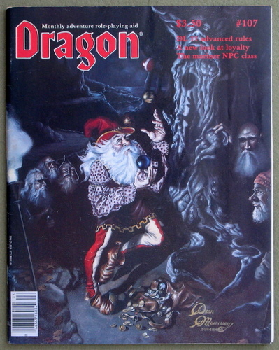 Image for Dragon Magazine, Issue 107