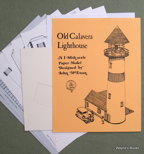 Image for Old Calavera Lighthouse: A 1/86th Scale Paper Model
