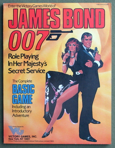 Image for James Bond 007 - Basic Game (Paperback)