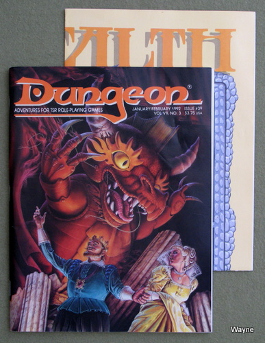 Image for Dungeon Magazine, Issue 39
