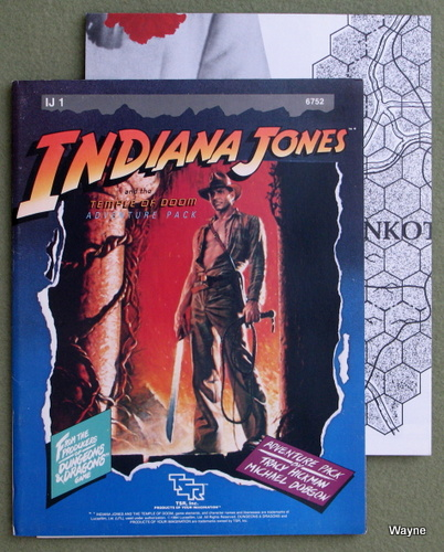 Image for Indiana Jones and the Temple of Doom (Indiana Jones RPG module IJ1)