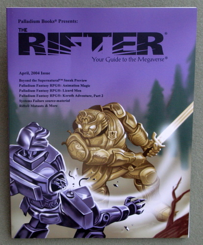 Image for Rifter #26: Your Guide to the Megaverse (Rifts)